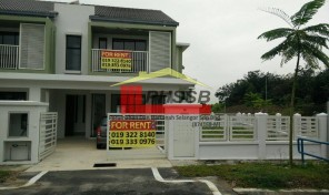 ABADI HEIGHTS TERES 2 TINGKAT (END LOT)- BUKIT PUCHONG